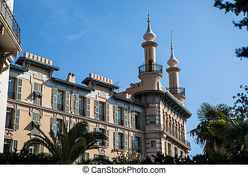 Ornate architecture of Nice