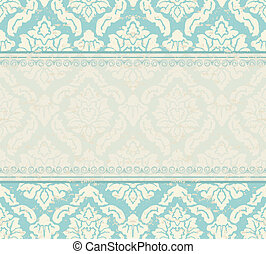 Ornate  background. Invitation to the wedding or announcements. ESP 10