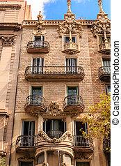Ornate Brick Apartment in Spain