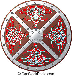 Ornate Celtic Shield