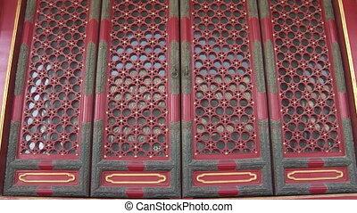 Ornate Chinese Doors - Zoom in of intricate designed doors...