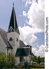 Ornate Church Steeple 1