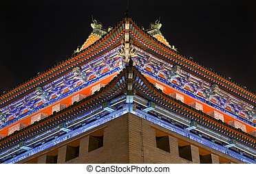 Ornate Corner Roof Southeast Watchtower Dongguan