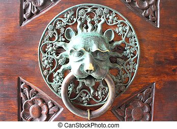 Ornate Croatian door knocker
