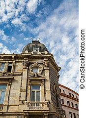 Ornate Details on Cartegena Building