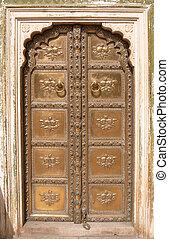 Ornate Door Jaipur City Palace