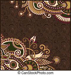ornate floral background