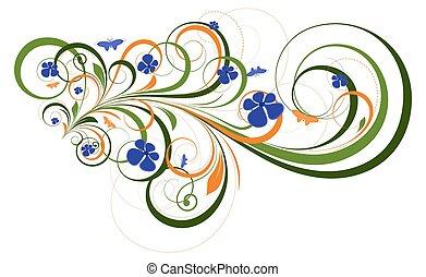 Ornate Flourish Design Elements