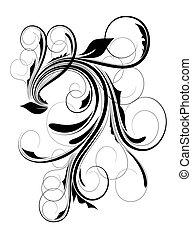 Ornate Flourish Festive Design