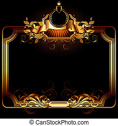 ornate frame, this illustration may be useful as designer ...
