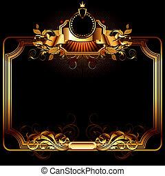 ornate frame, this illustration may be useful as designer ...