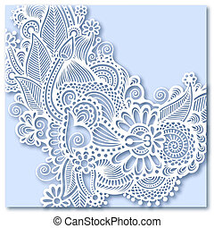 ornate greeting card, christmas decoration