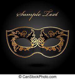 ornate, máscara