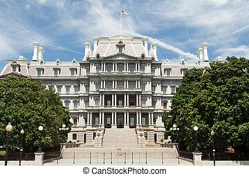 Ornate Old Executive Office Building Washington DC