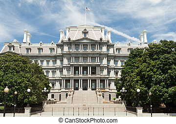 Ornate Old Executive Office Building Washington DC