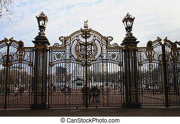 Ornate Park Gates