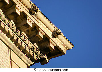ornate roof top corner