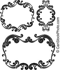 Ornate Scroll Frames