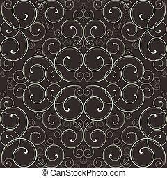 Ornate Scroll Pattern