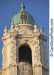 Ornate Steeple Mission Dolores San Francisco California -...