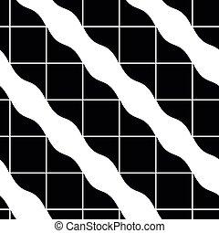Ornate tiles seamless pattern