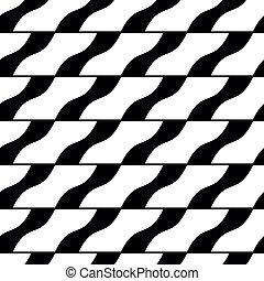 Ornate tiles seamless pattern, geometric vector background.