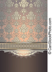 Ornate vintage background.