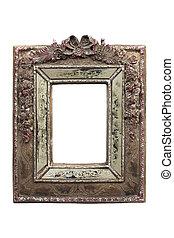 Ornate vintage picture frame