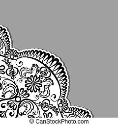 ornements, floral