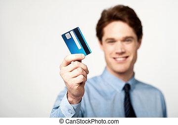 !, oro, è, credito, nuovo, nostro, scheda