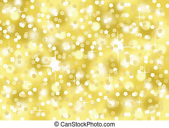 oro, coriandoli, vacanza, fondo