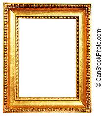 oro cornice immagine