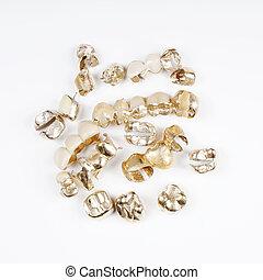 oro, dentale, scarto