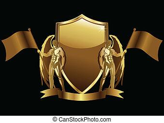 oro, emblema