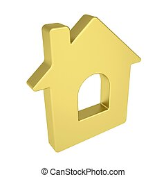 oro, icona casa