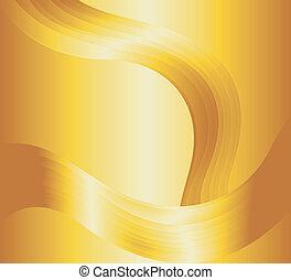 oro líquido, plano de fondo