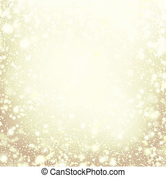 oro, lights., fondo, -, natale, defocused, sfavillante, ...