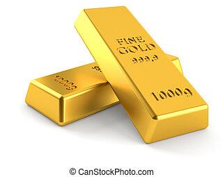 oro, lingotes