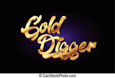oro, manuscrito, texto, logotipo, diseño, dorado, metal, ...