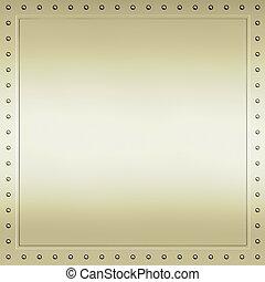 oro, metallo, fondo, struttura