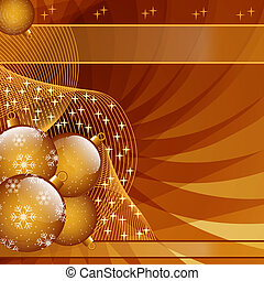 oro, navidad, pelotas, resumen