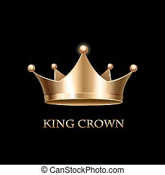 oro, nero, corona