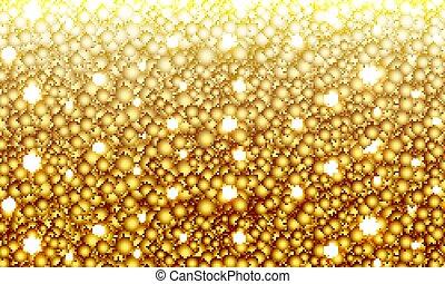 oro-placcato, sfavillante, fondo