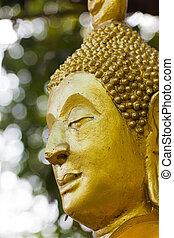 oro, vecchio, buddha.