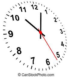 orologio, 3d