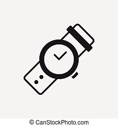 orologio, icona
