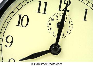 orologio, primo piano