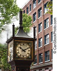 orologio vapore