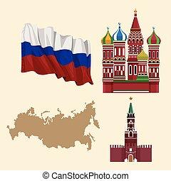 orosz, emblémák, állhatatos