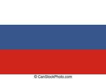 orosz, federation., lobogó